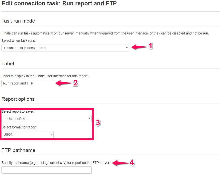 How to create an FTP connection – Finale Inventory
